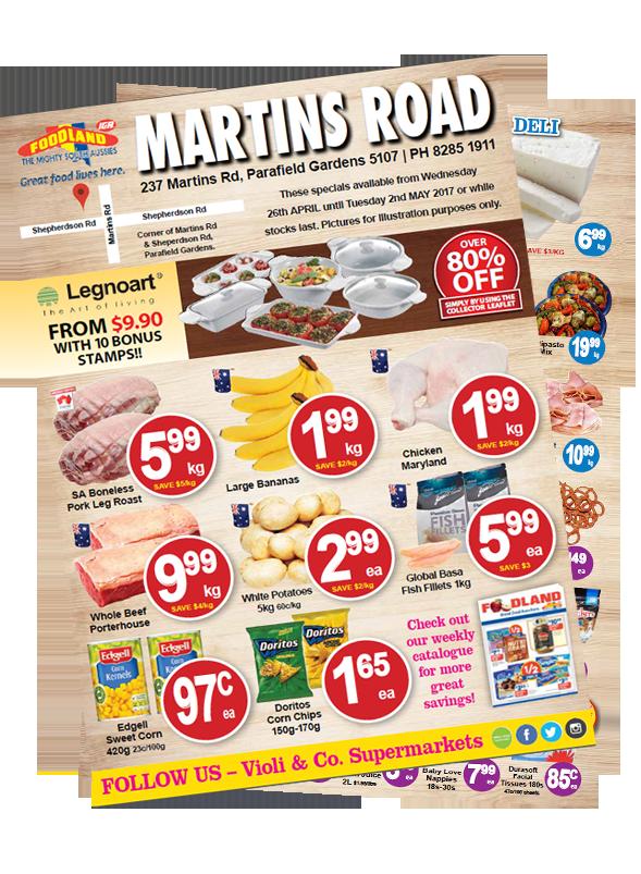 Violi & Co. Supermarkets - Martins Road Instore Catalogue