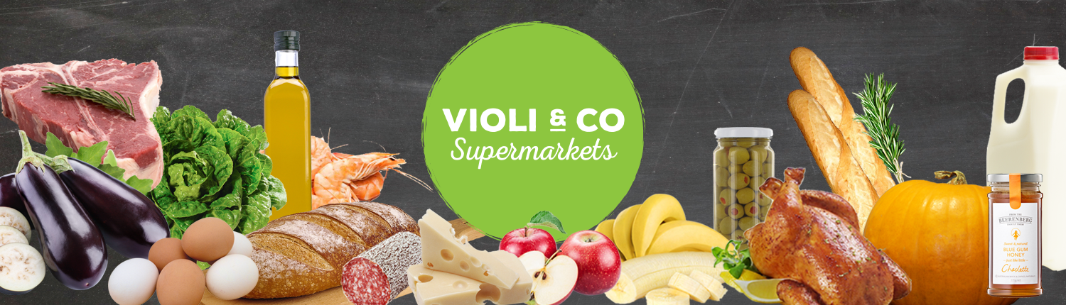 Violi & Co. Supermarkets - Header Banner