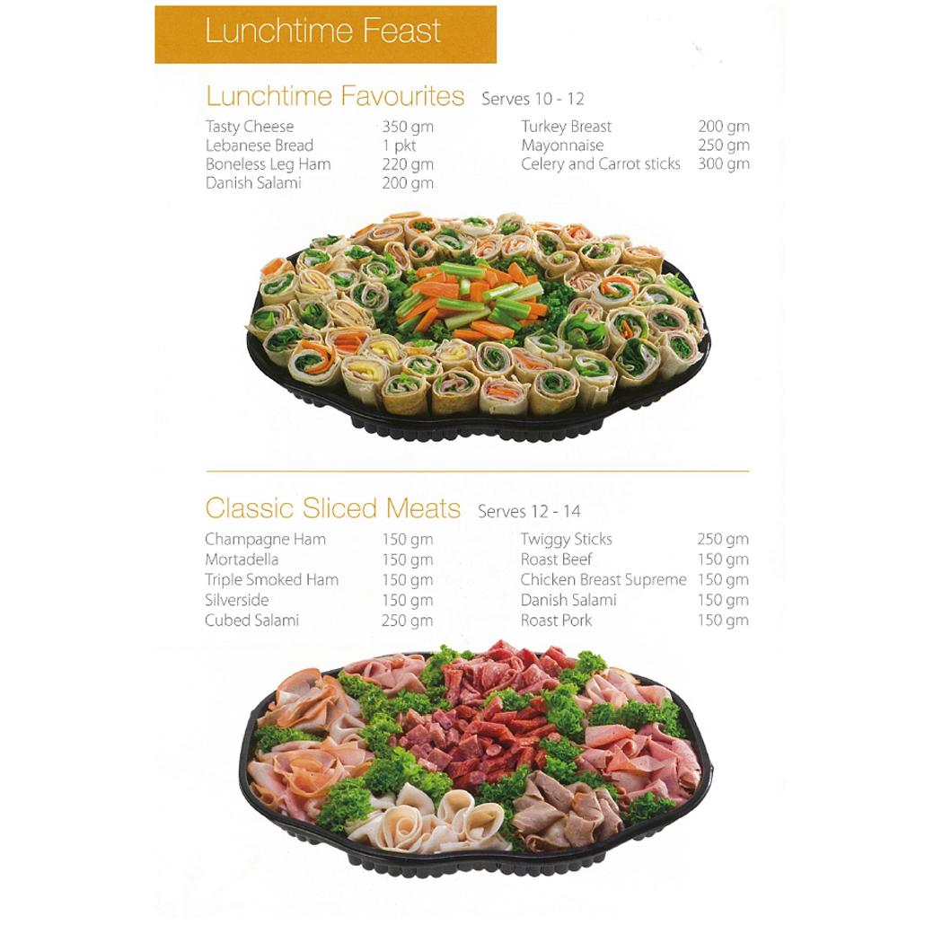 Violi & Co. Supermarkets - Service Deli Platter 2
