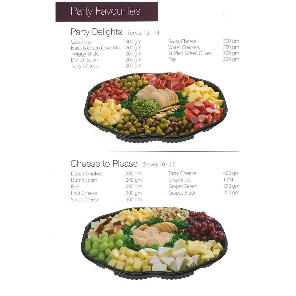 Violi & Co. Supermarkets - Service Deli Platter 4
